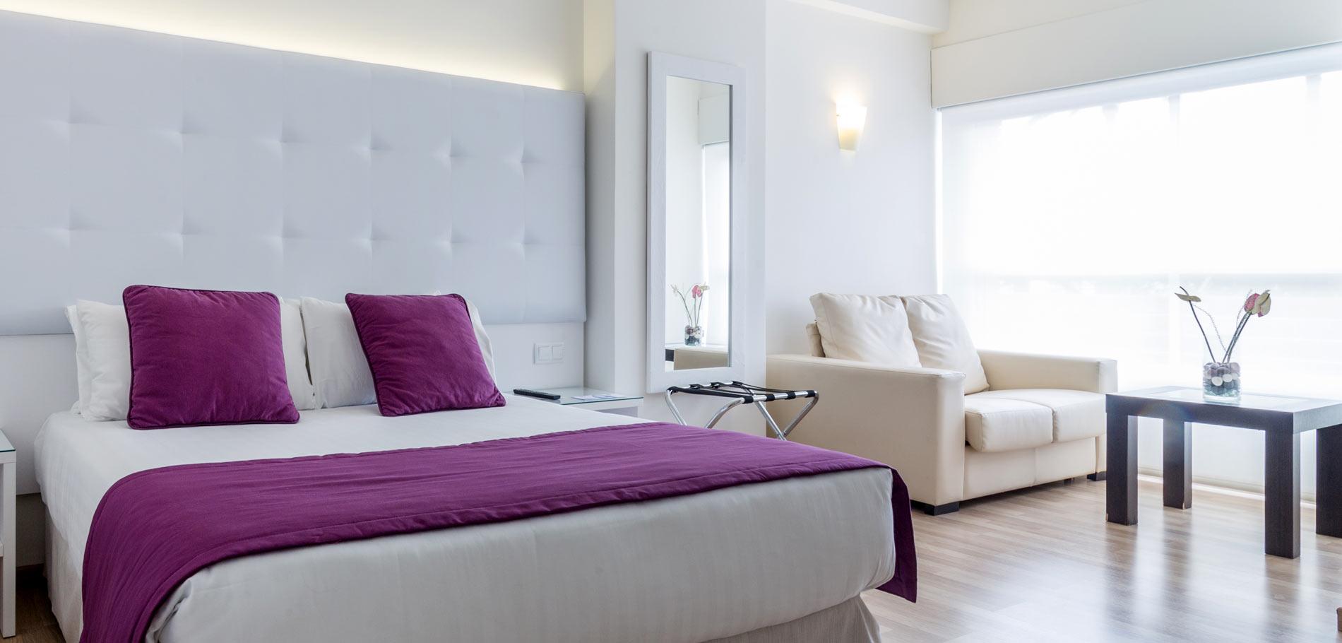 Habitaciones amplias y funcionales pensadas para todos los p blicos hotel albah a alicante - Decoracion alicante ...